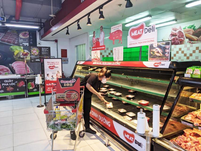 Sức mua thịt sạch MEATDeli và Gà Tươi 3F tăng đột biến trên hệ thống VinMart/VinMart+ tại Tp.HCM
