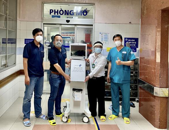 Masan hỗ trợ thiết bị y tế cho tuyến đầu chống dịch Covid-19